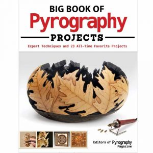 Big Book of Pyrography cover